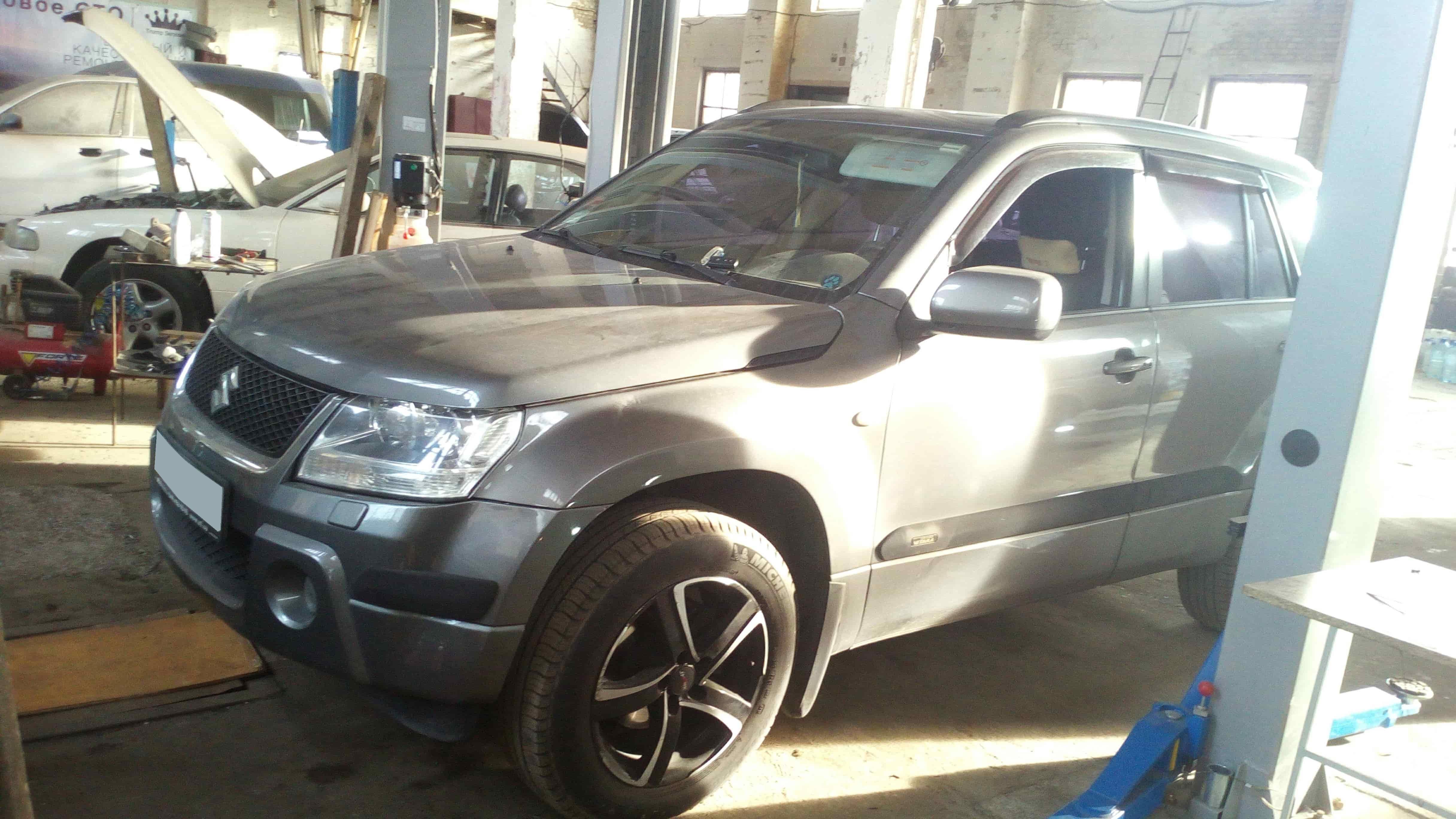 ошибка по катализатору Suzuki Grand Vitara