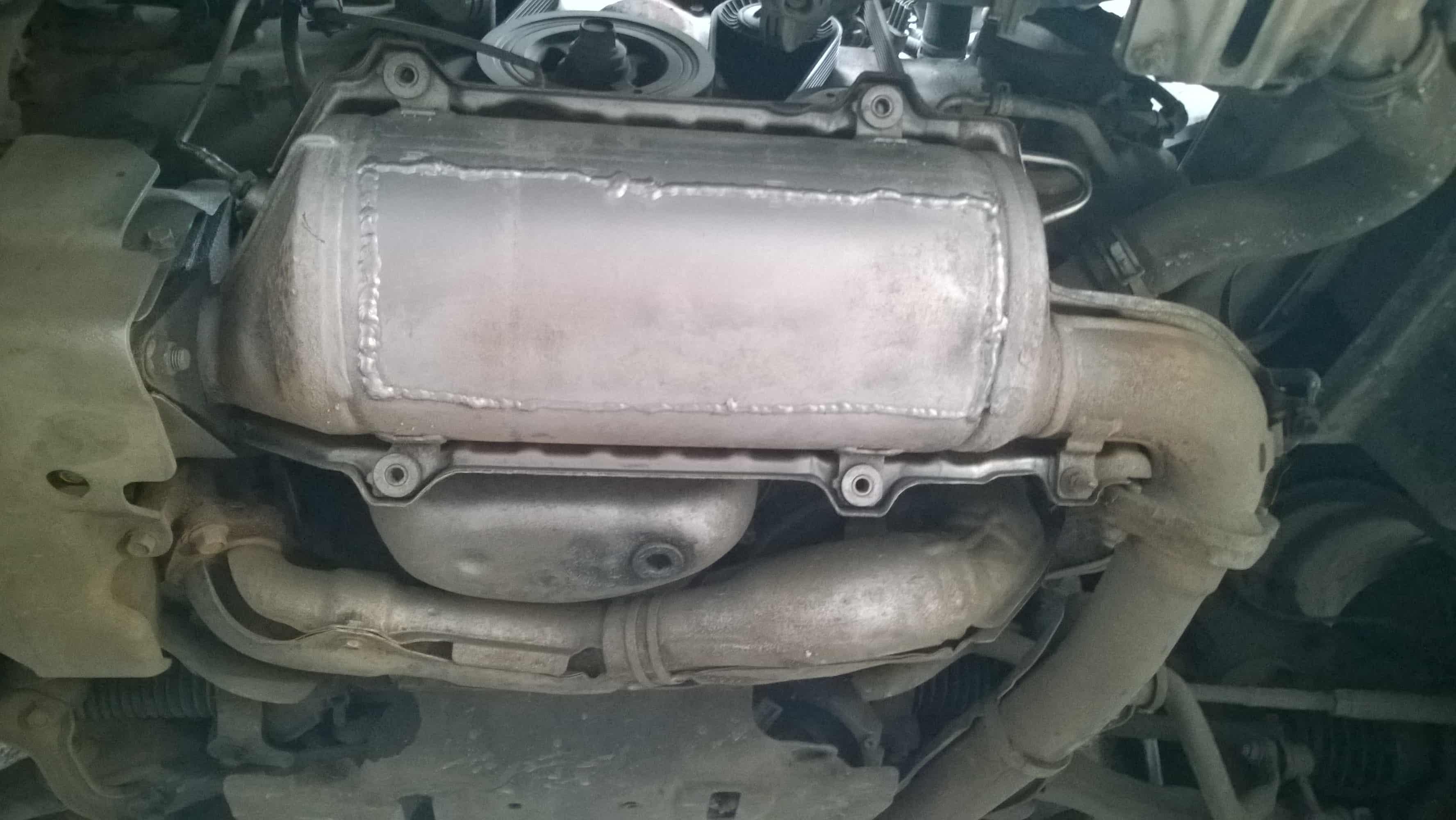 Удаление сажевые фильтра Subaru Forester 2.0
