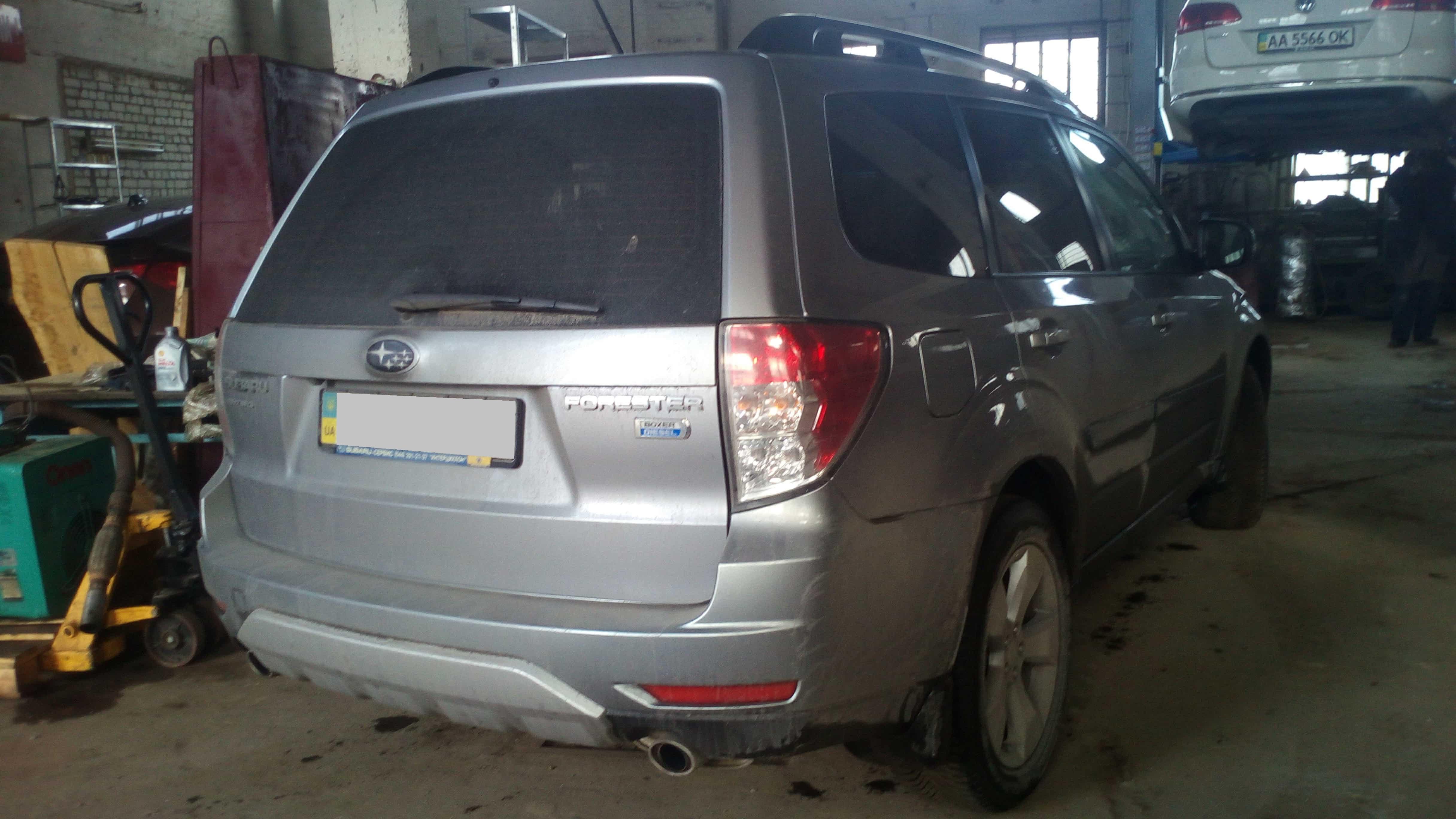 Отключение и заглушка EGR клапанов Subaru Forester