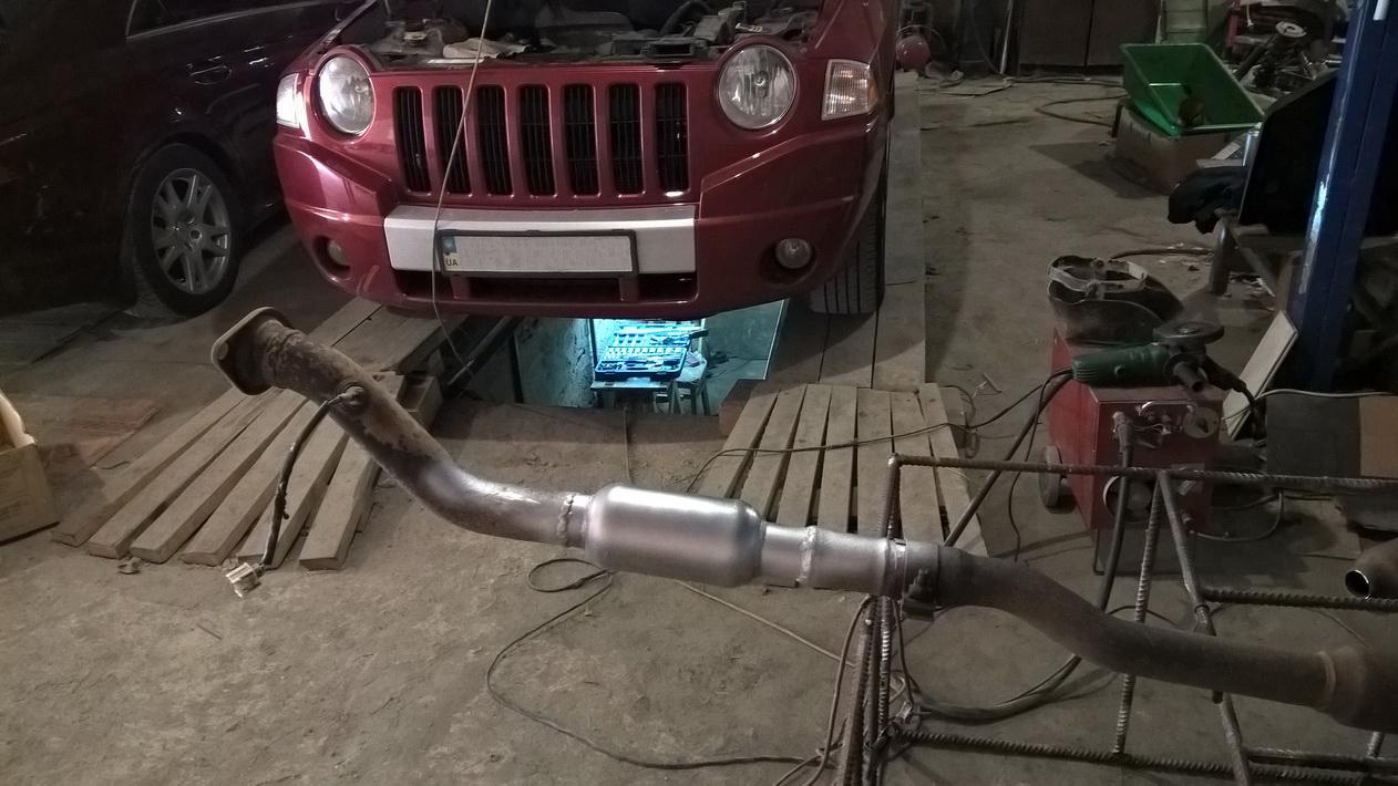 стронгер на Jeep Compass