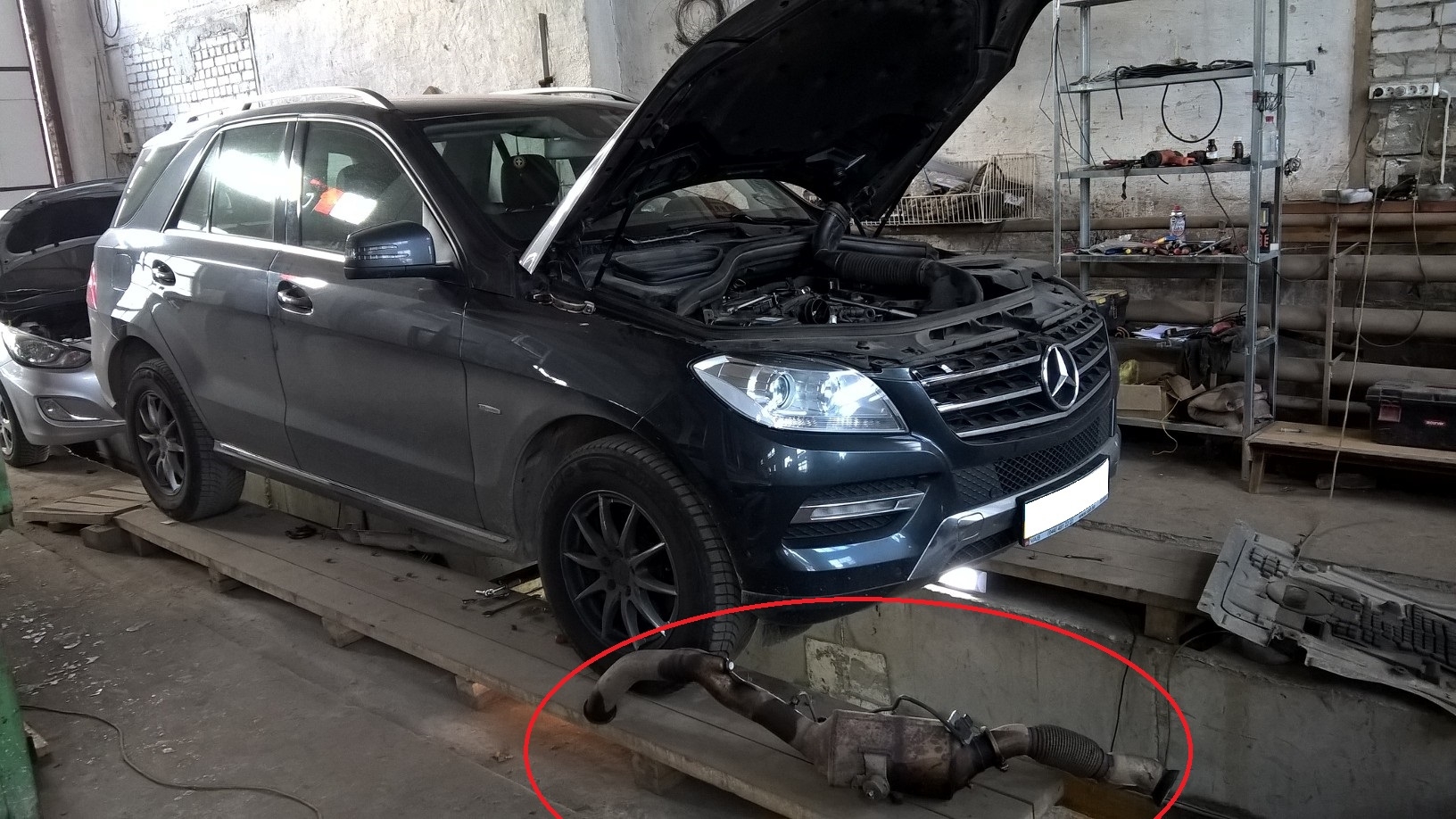 Сажевый фильтр Mercedes-Benz ML 250 BlueTEC