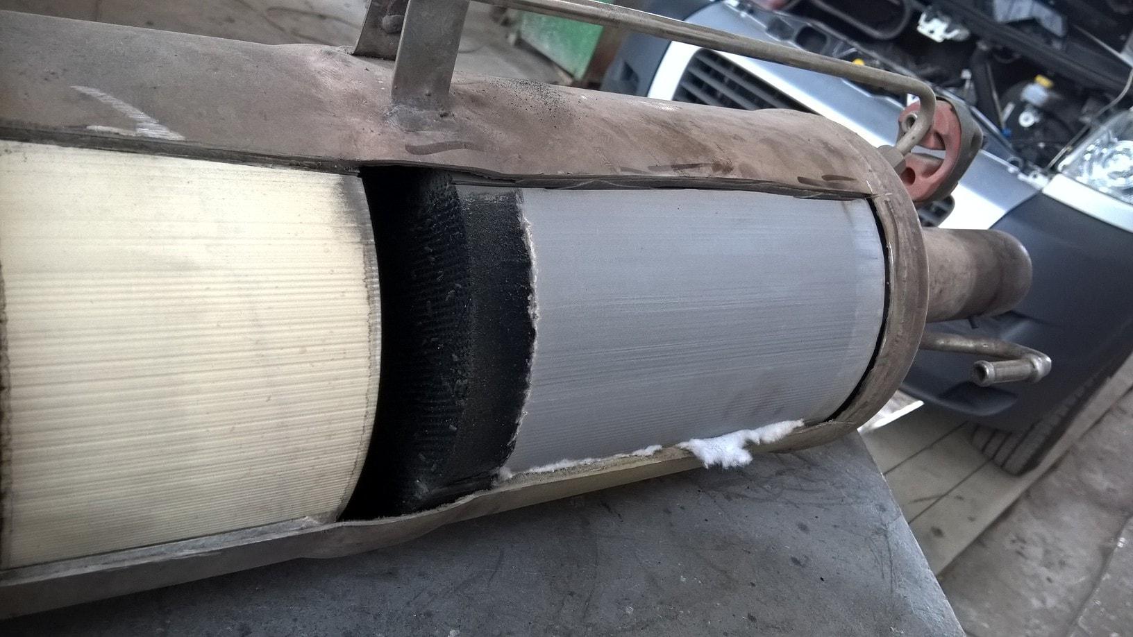 Забит сажевый фильтр Fiat Ducato