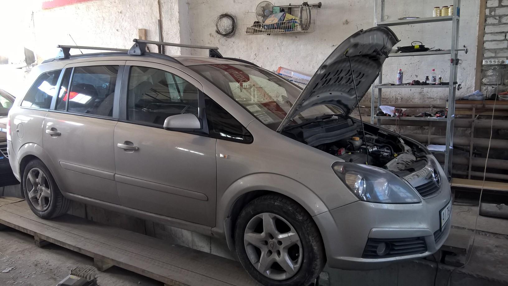 Установка эмуляторов на Opel Zafira