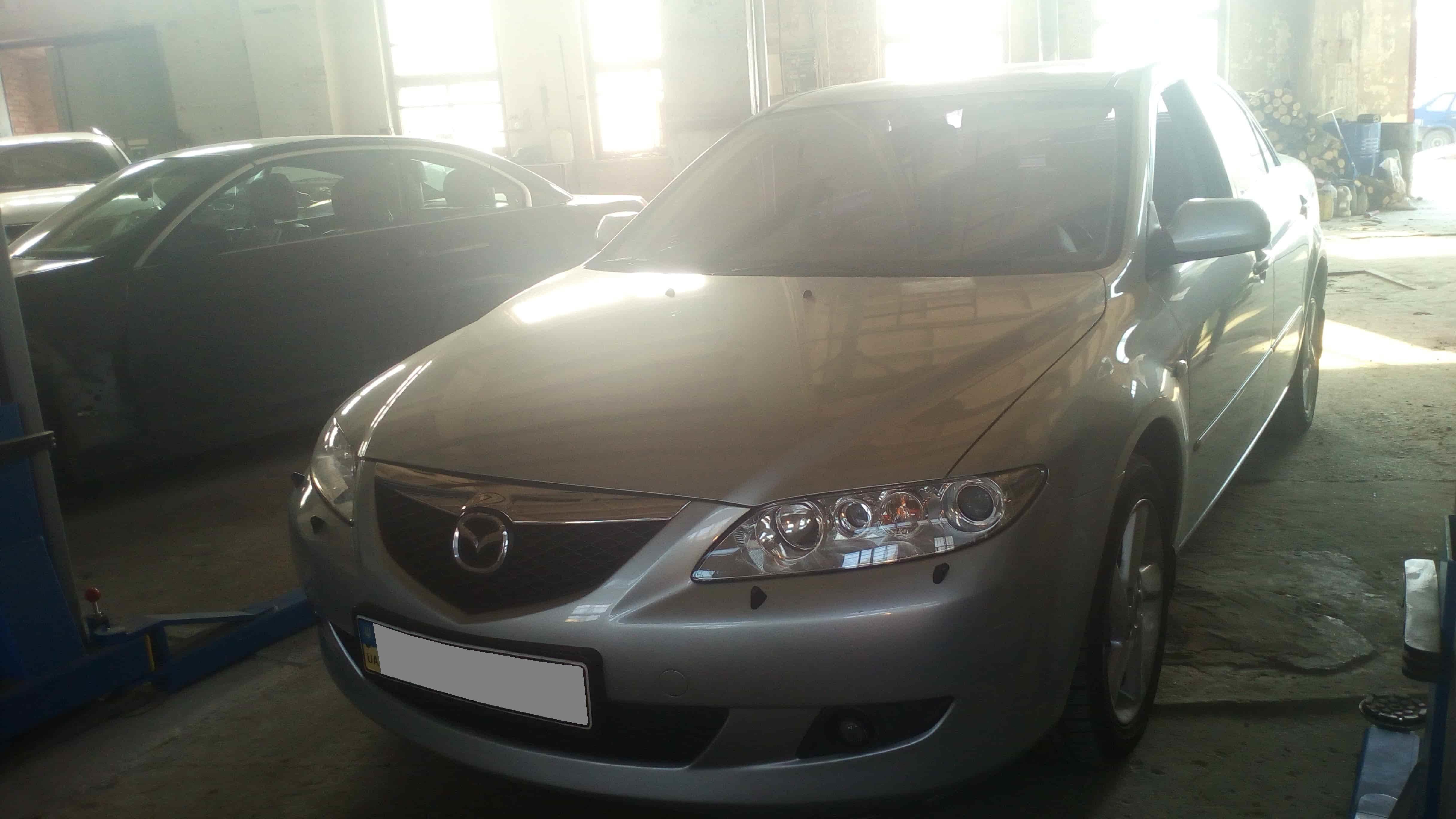 Ошибка п0120 Mazda6